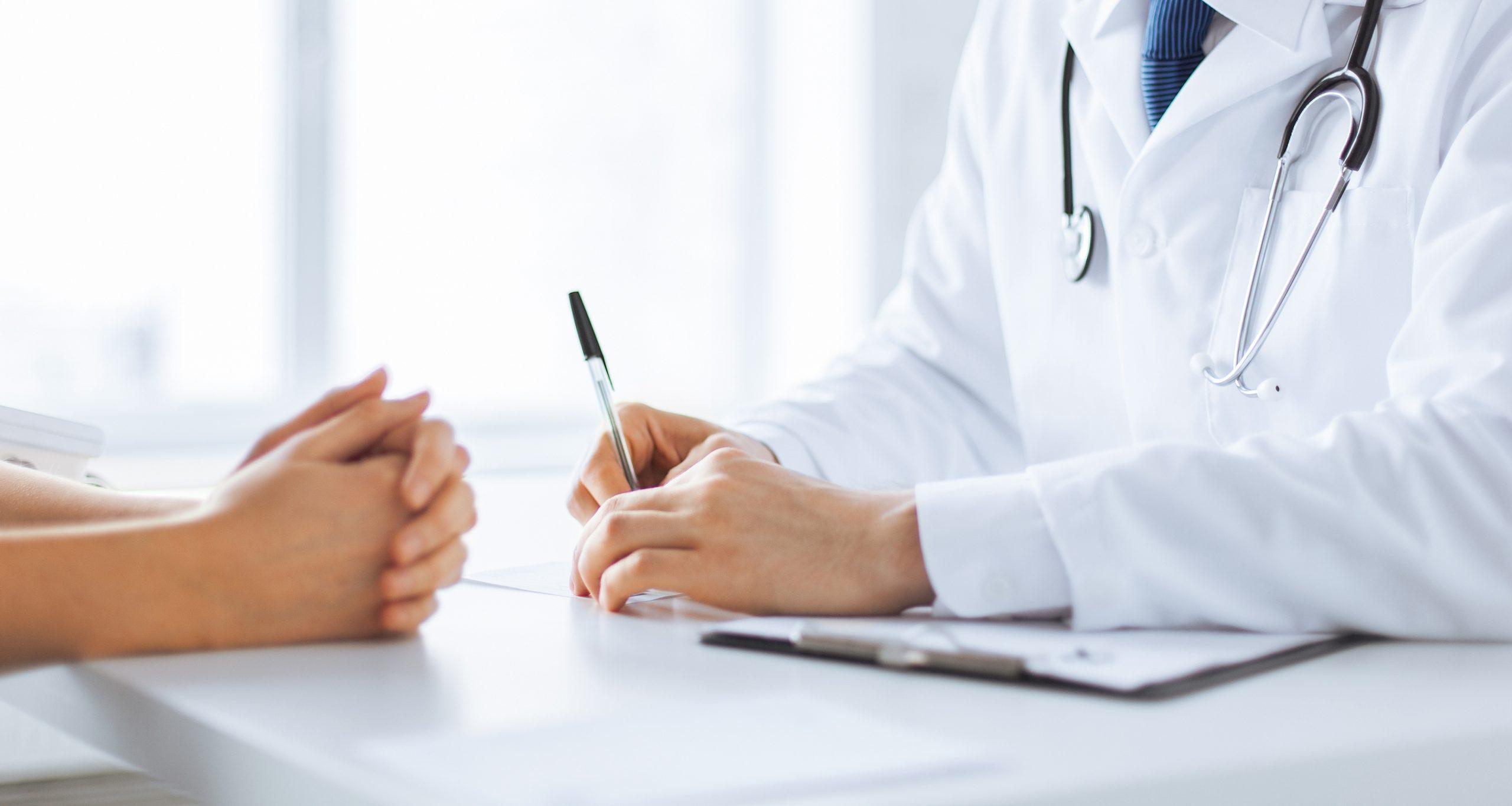 Doctor misdiagnosing patient