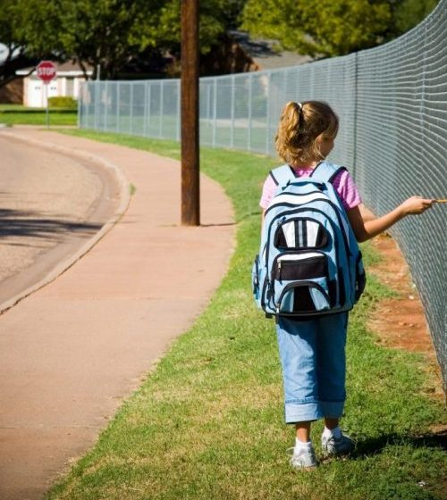 Pedestrian safety in back to school season is very important